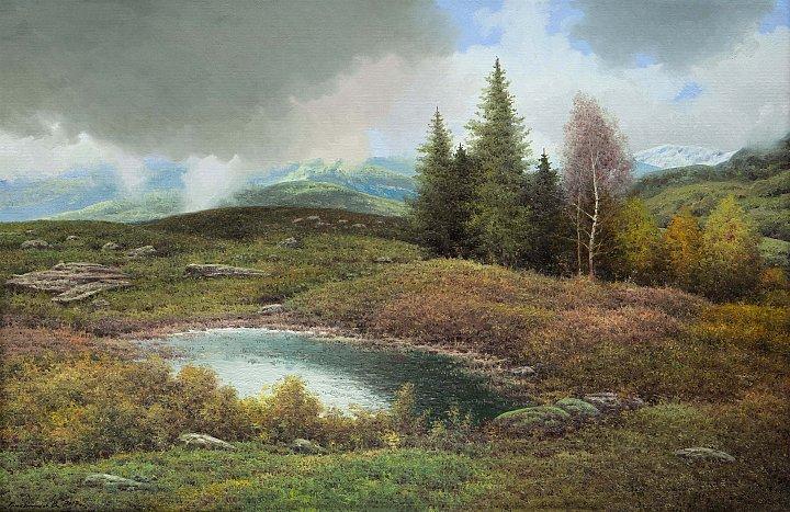 Василий Грибенников – Осень в горах
