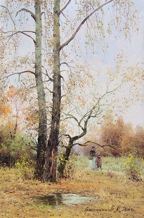 Осенние тополя
