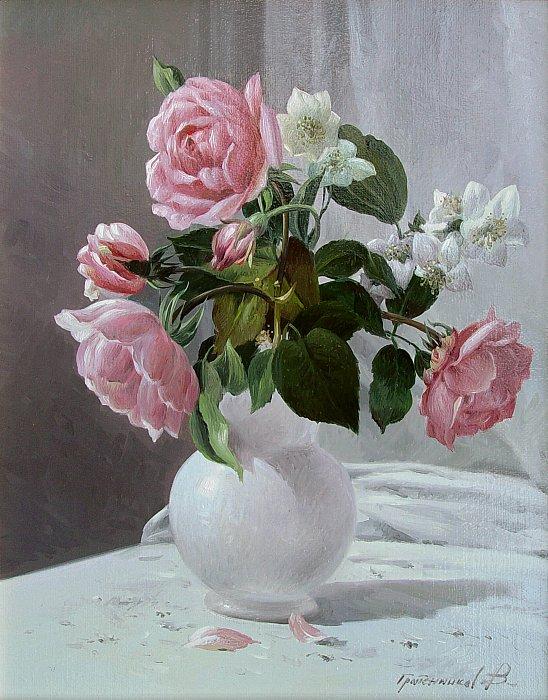 Розы и жасмин