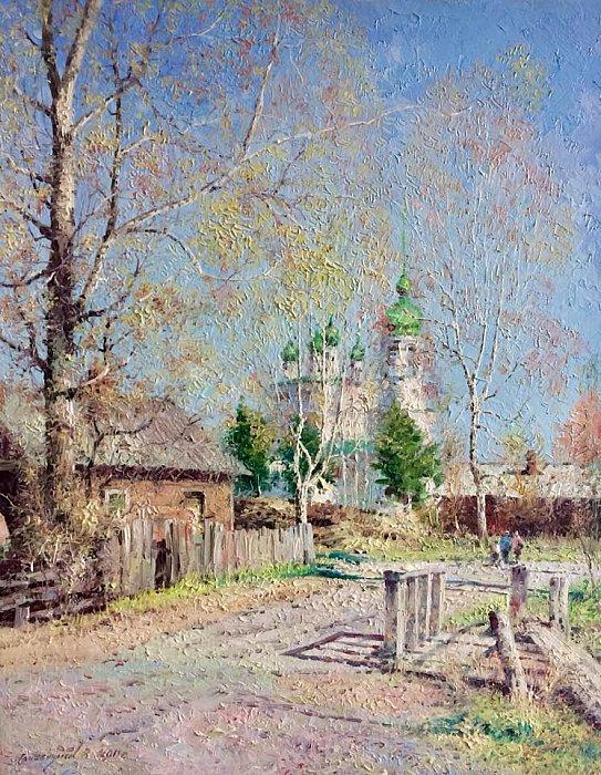 Василий Грибенников – Весенний пейзаж
