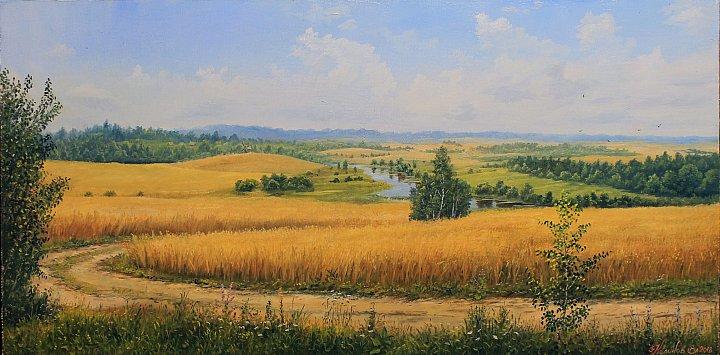Дорога в пшеничные дали
