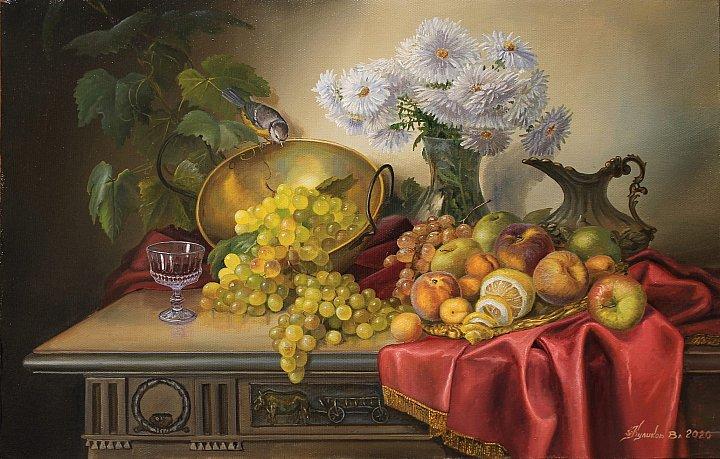 Владимир куликов – Натюрморт с персиками