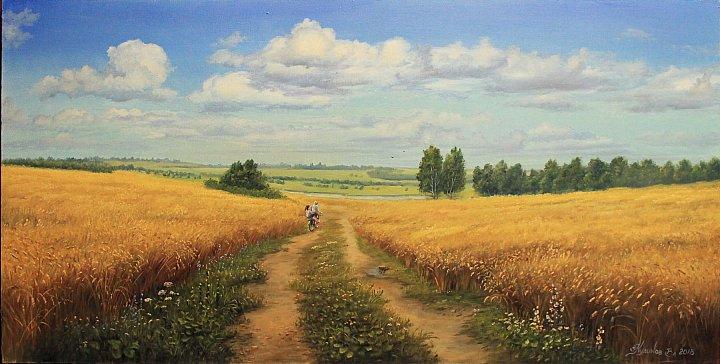 Пшеничный простор