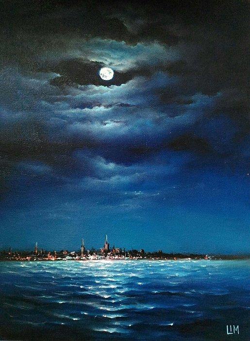 Луна над Таллином. ~ Сергей Лим