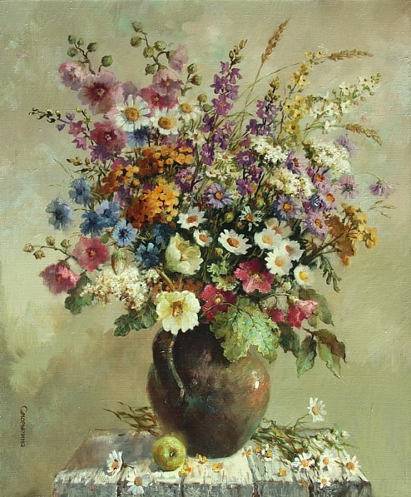 Сморыгина Анна – Полевое разноцветье