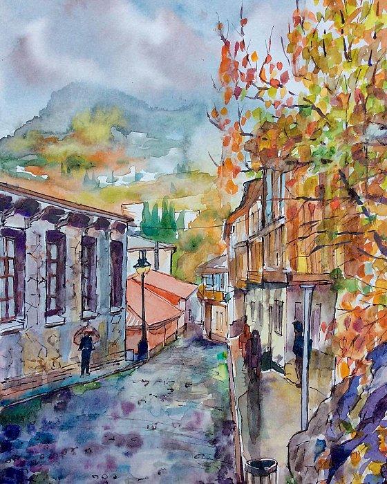 Поздняя осень в Гурзуфе