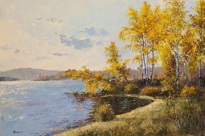 Осень на Визовском пруду
