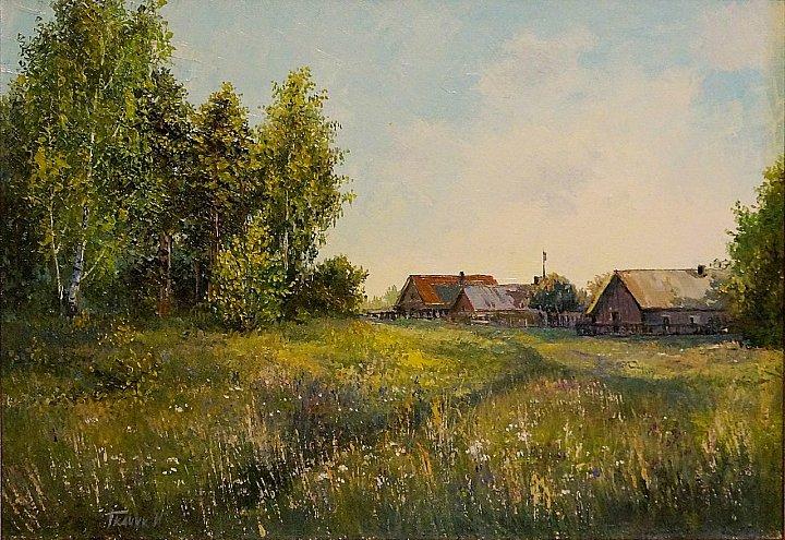 Лето в Семиключёвском парке