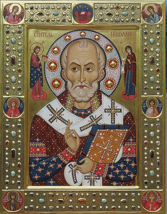Икона святого Николая Чудотворца/Icon of Saint Nicholas
