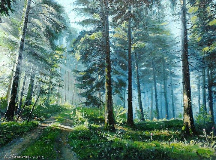 Игорь – Солнечный лес.Счастливый я, когда смотрю на дивный мир...