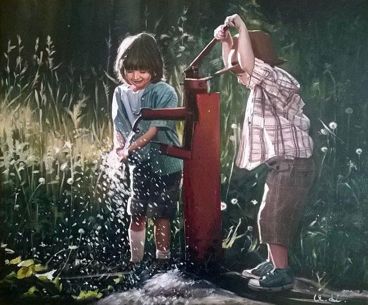 Не разлей вода