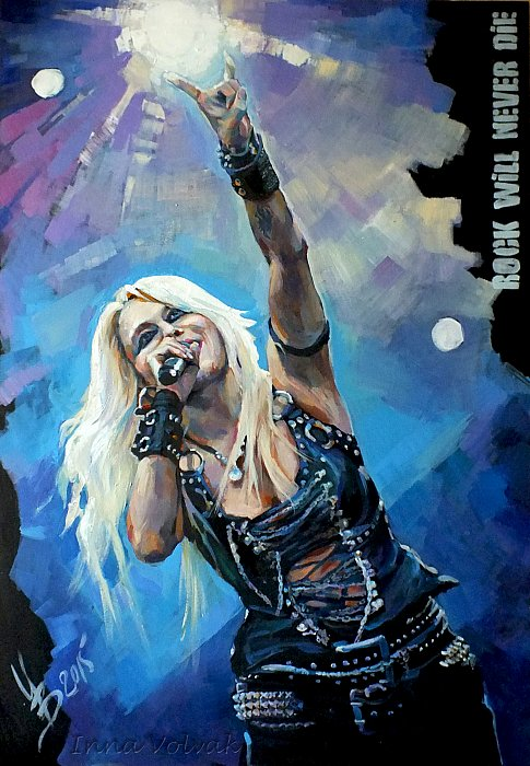 Doro Pesch Rock will never die ~ Инна Вольвак