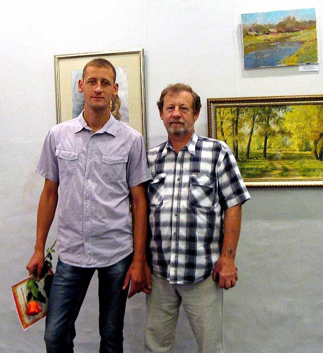 Иван Булыгин – На выставке Художники городу