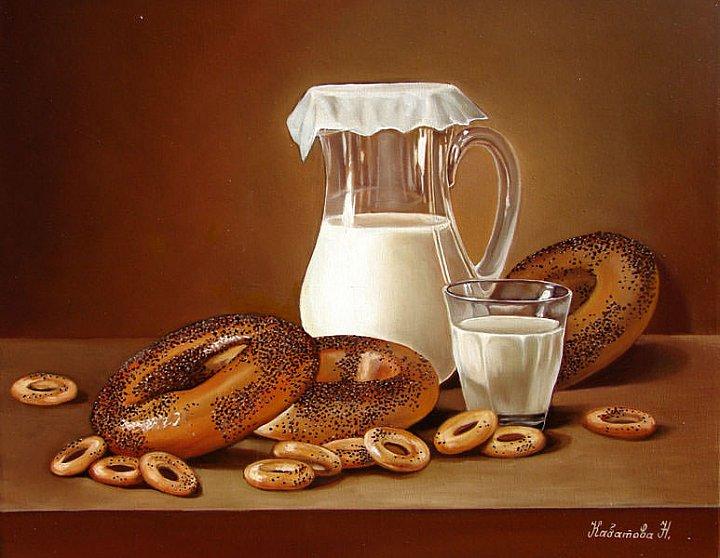 Надежда Кабатова – Бублики и молоко