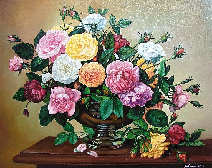 Надежда Кабатова – Букет из роз