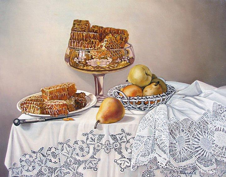 Надежда Кабатова – Медовый натюрморт