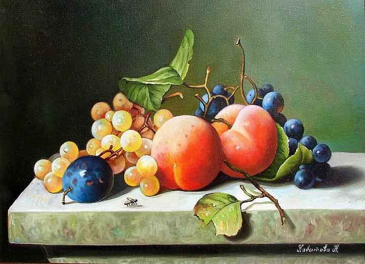 Надежда Кабатова – Натюрморт с фруктами