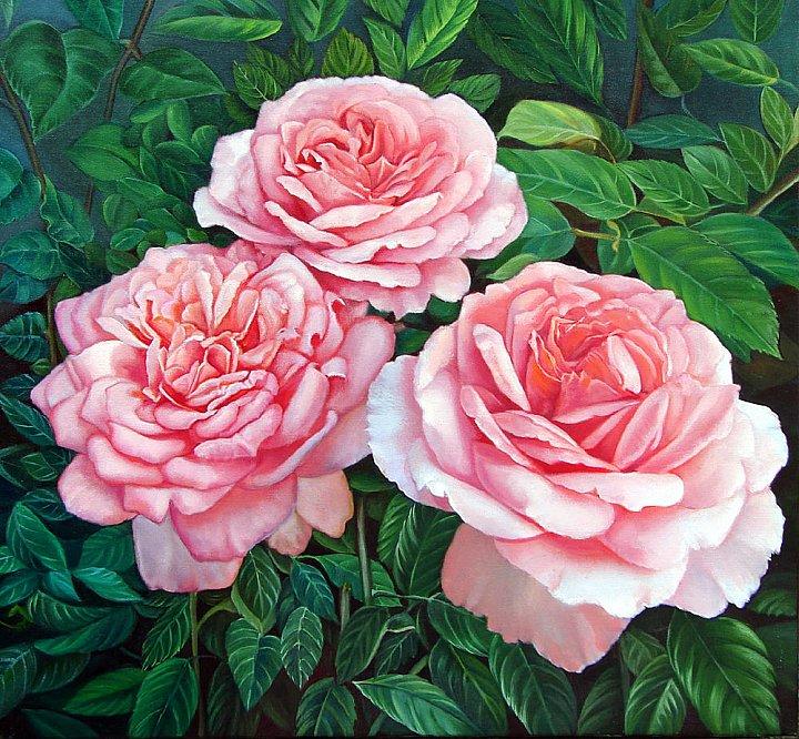 Надежда Кабатова – Три розы
