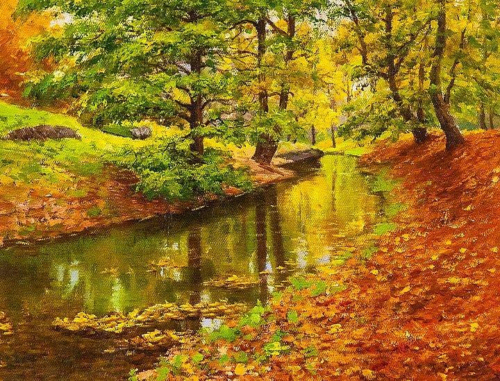 Савелий Камский – Осенью у ручья