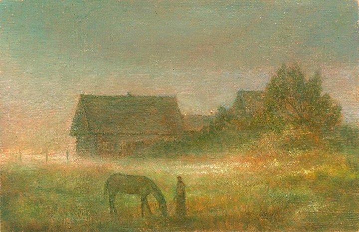 Кирилл Мельник – Утренний пейзаж