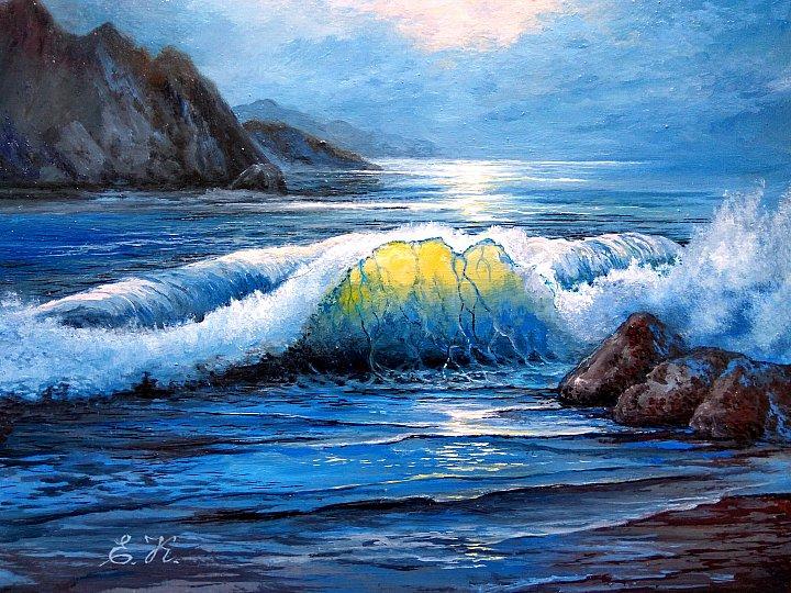 Волна. (по А. Южакову)