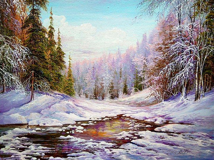 Кораблева Елена Николаевна – Зима