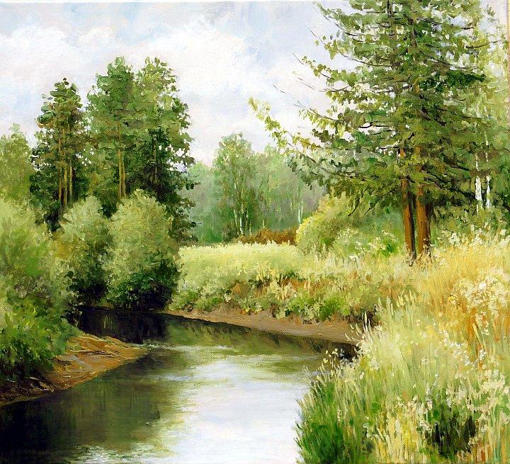 Август, река Баранча