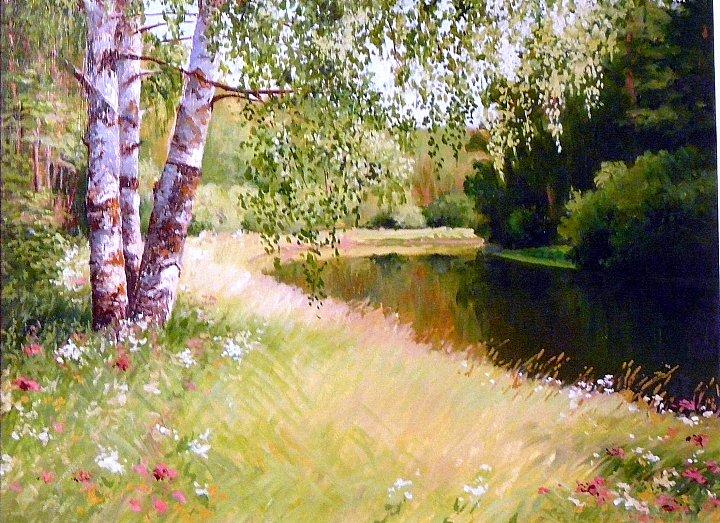 Андрей Костромин – июль, река Тагил