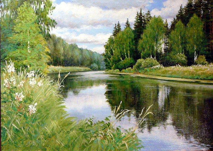 Андрей Костромин – Перед дождем, река Тагил