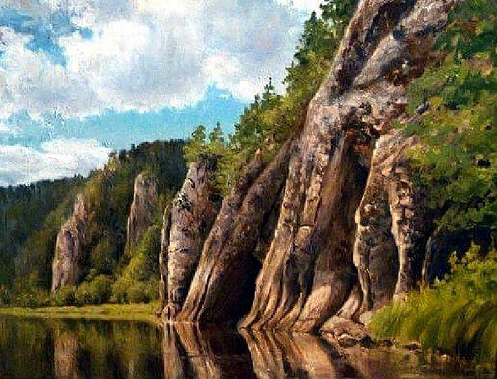 Река Чусовая, камень Мултык