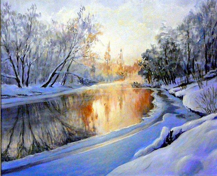 Андрей Костромин – зимний вечер