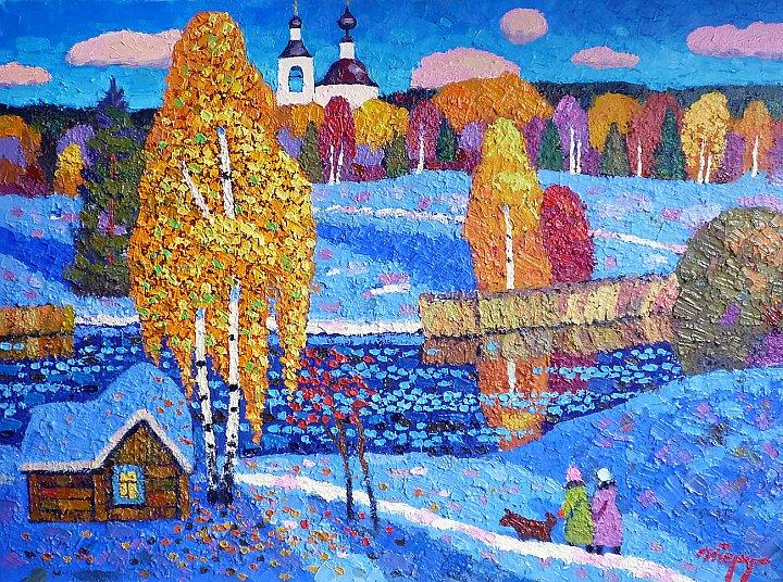 Первый снег в Крутово