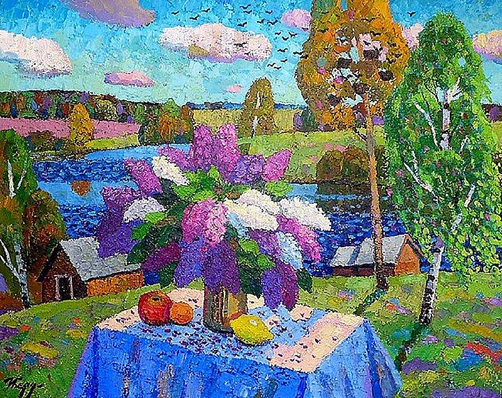 Бердышев Игорь – Сирень, весна