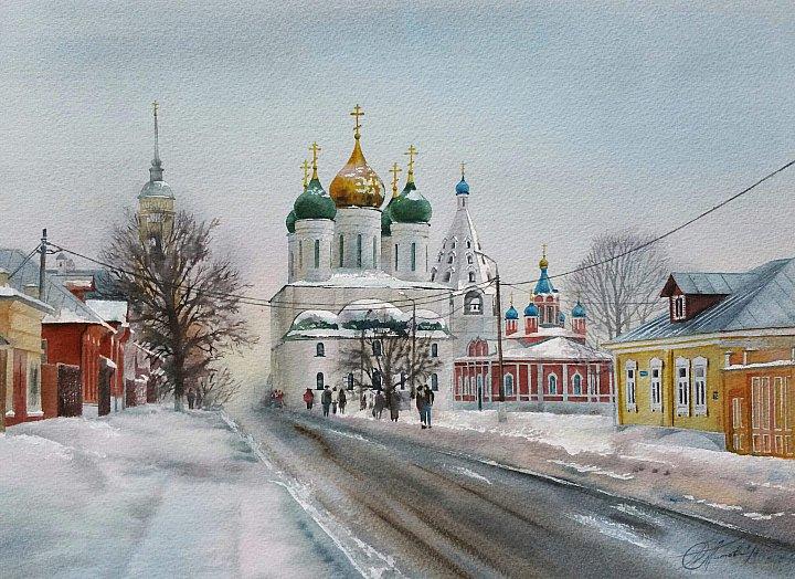 Любовь Титова – Коломна. Соборная площадь