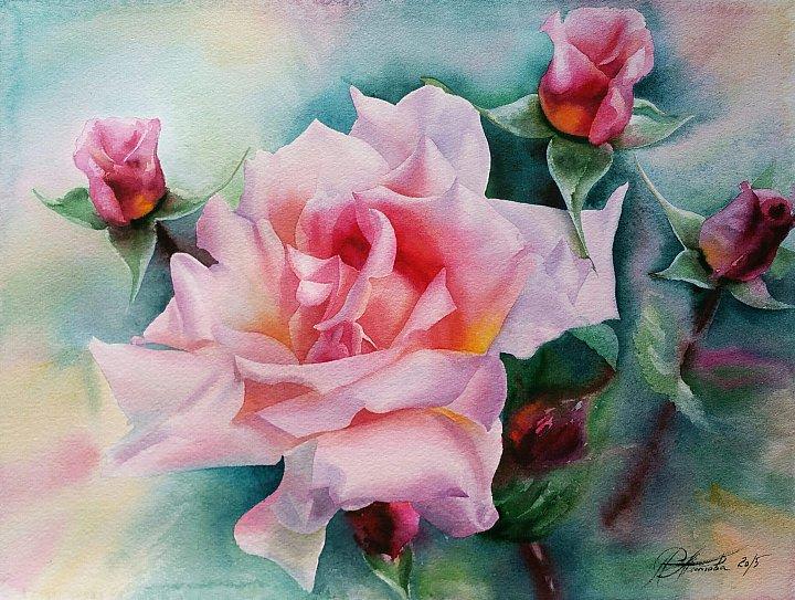 Любовь Титова – Прекрасная роза