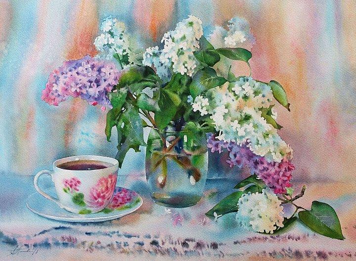 Любовь Титова – Сиреневое утро