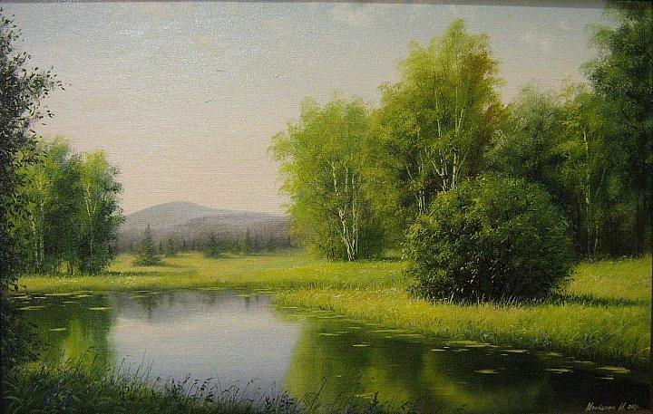 Инна Мелёшина – Летний пруд