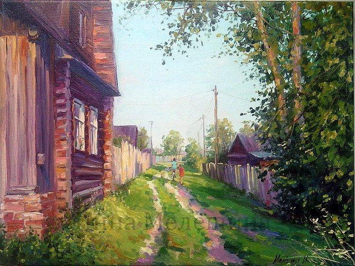 Инна Мелёшина – Летом в деревне