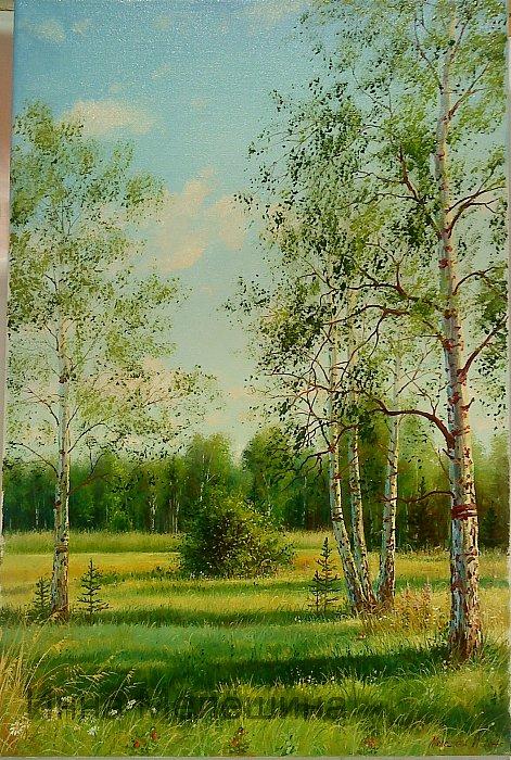 Инна Мелёшина – На лесной опушке