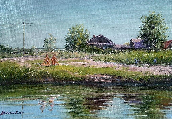 Инна Мелёшина – На речке