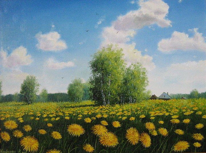 Инна Мелёшина – Одуванчики цветут