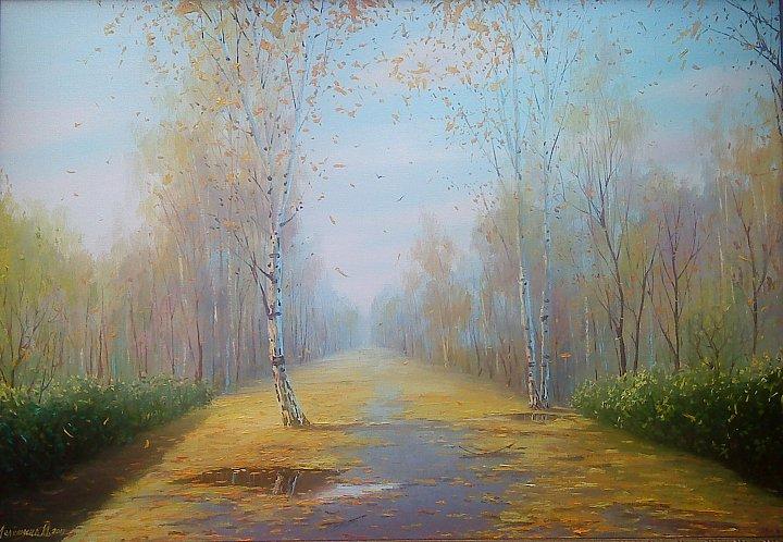 Инна Мелёшина – Осенняя аллея