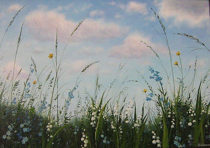 Инна Мелёшина – Цветы на фоне неба