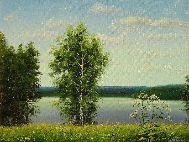 Инна Мелёшина – Уральский пейзаж,