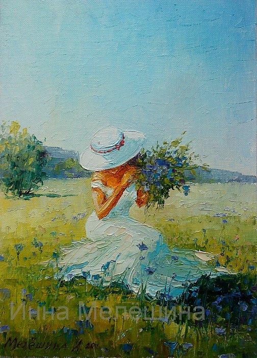 Инна Мелёшина – В цветах