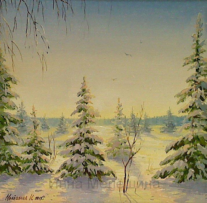 Инна Мелёшина – Зимнее утро