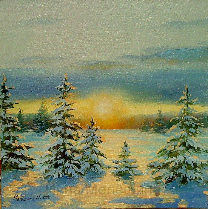 Инна Мелёшина – Зимний вечер