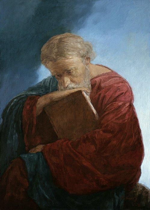 Андрей Миронов – Апостол Иоанн Богослов на острове Патмос
