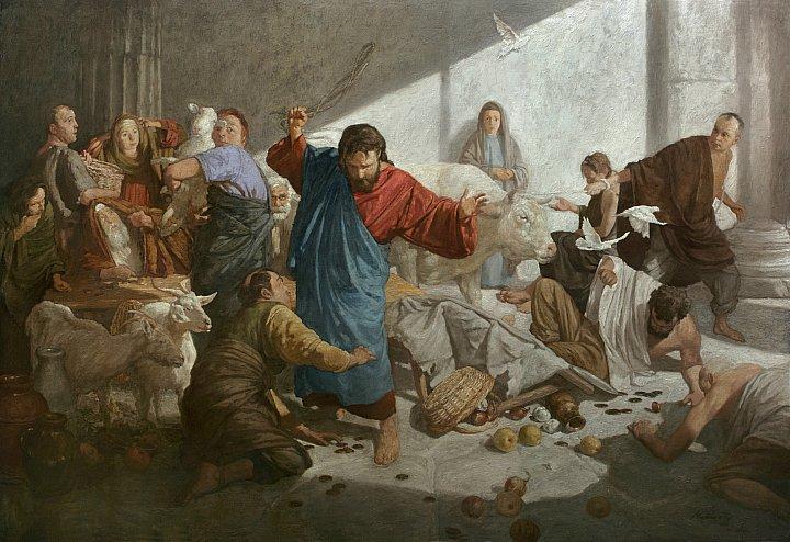 Андрей Миронов – Изгнание торгующих из храма
