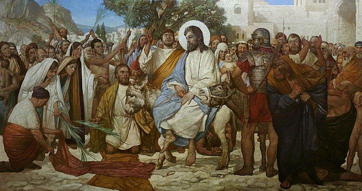 Андрей Миронов – Вход Господень в Иерусалим
